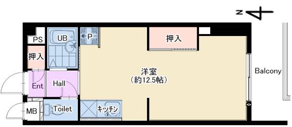 サンイースト武庫之荘302 仲介図面